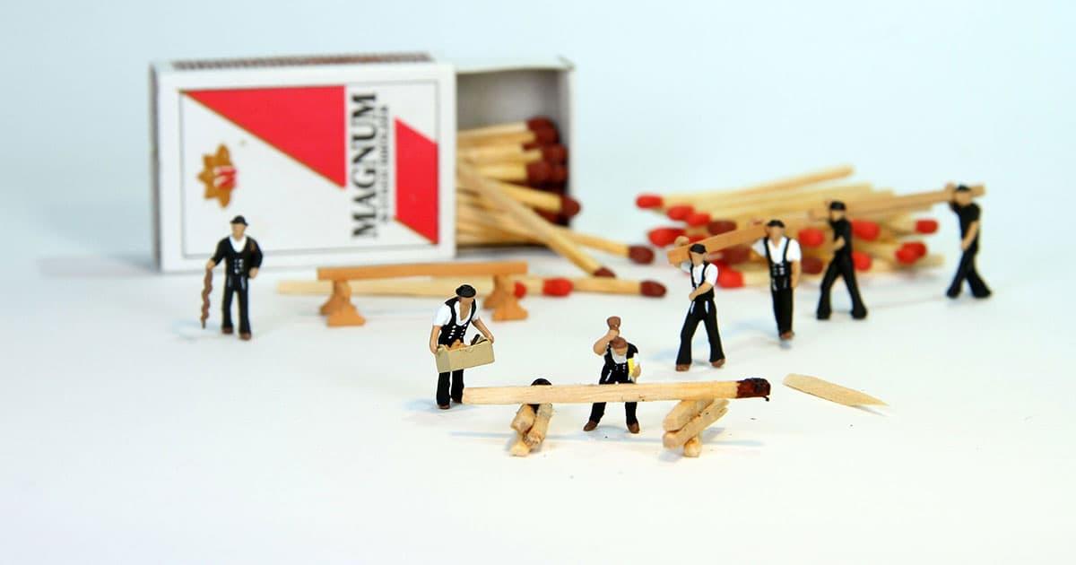 Resistenza al fuoco del legno come materiale da costruzione