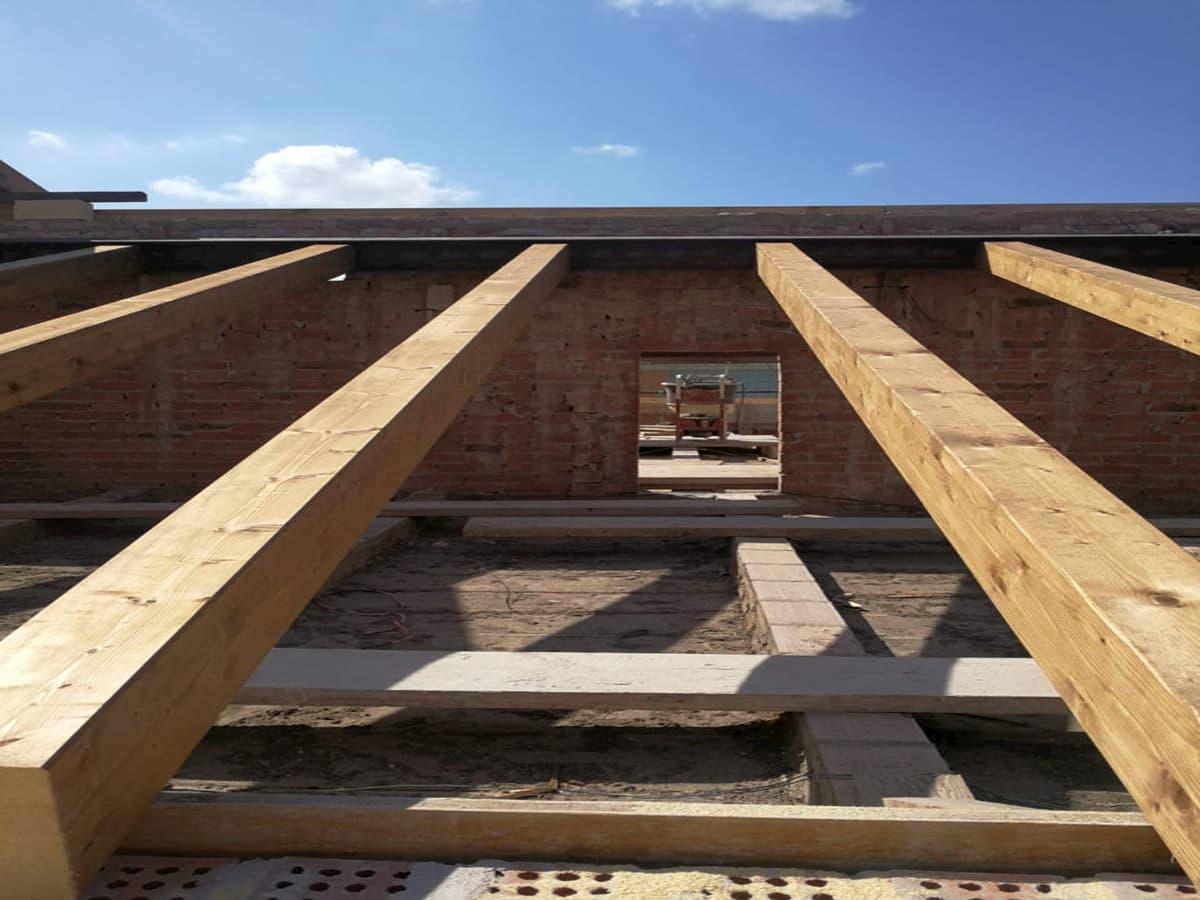 ripristino tetto in legno