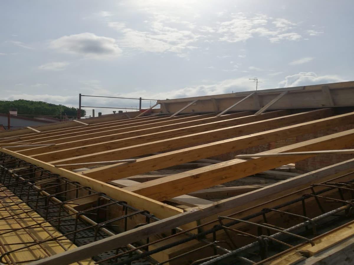 ristrutturazione copertura legno