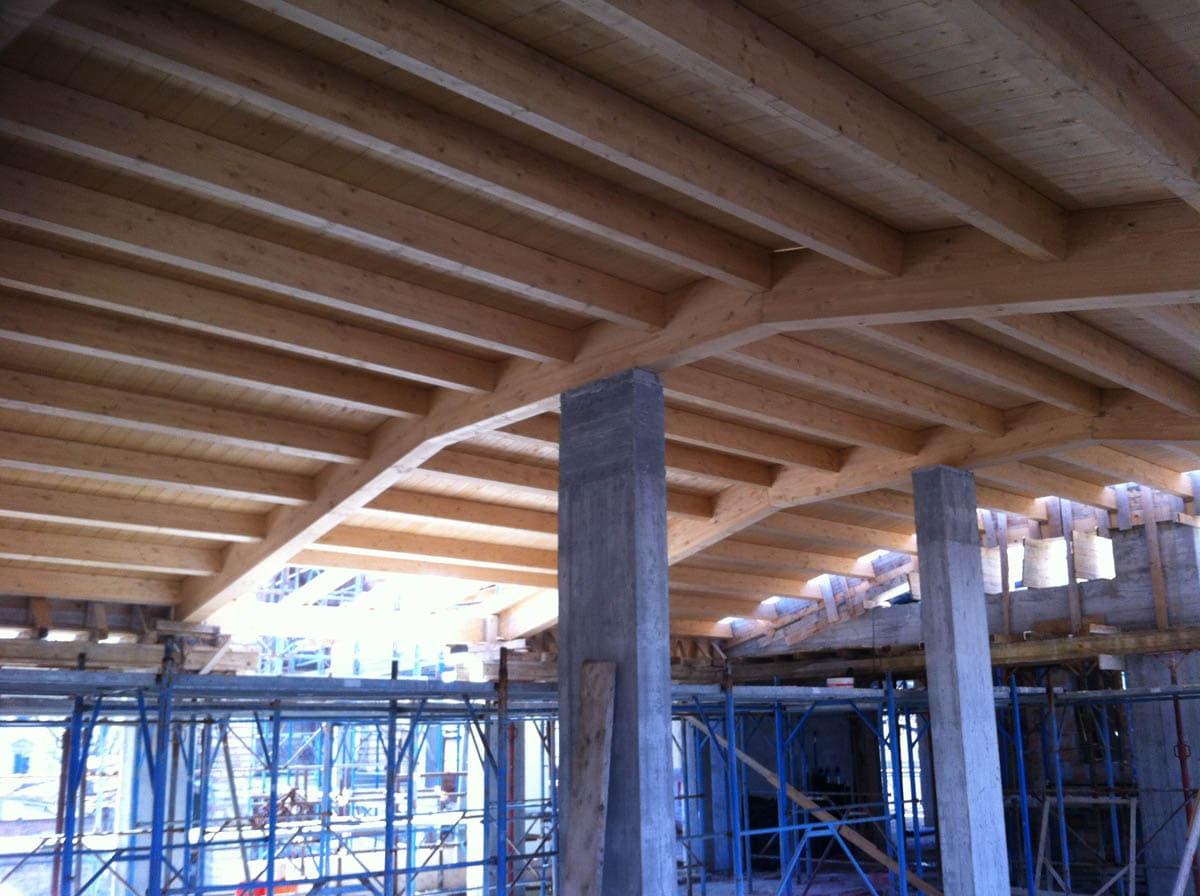 tetti legno coperture discontinue