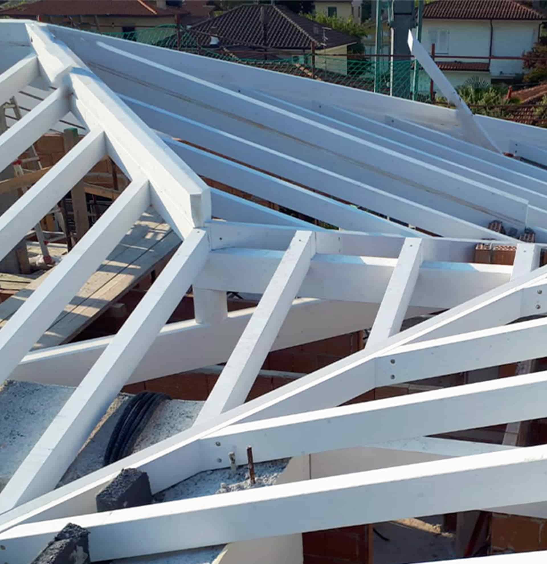 copertura legno lamellare piallato serravalle pistoiese