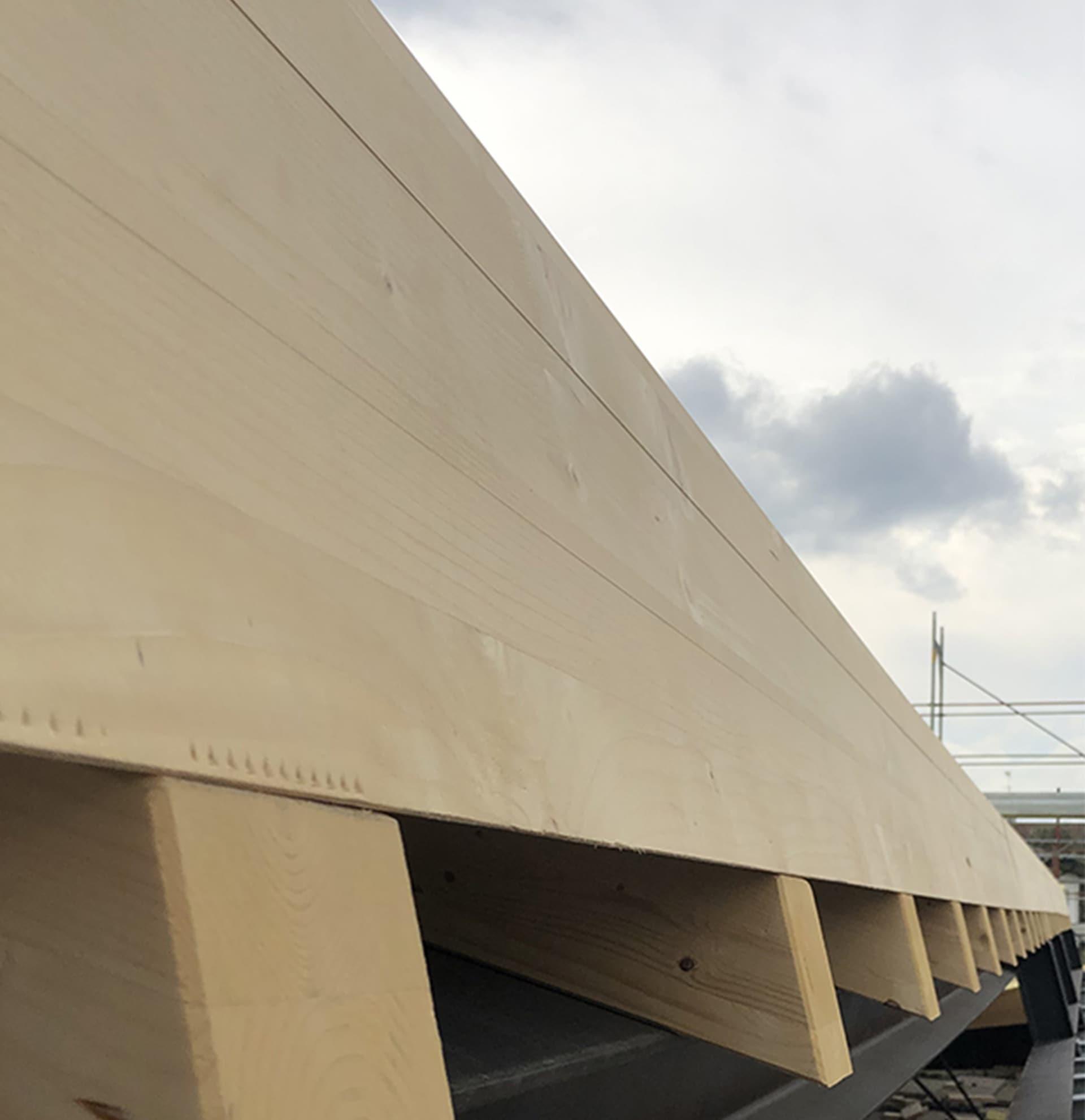 copertura solai legno lamellare perignano