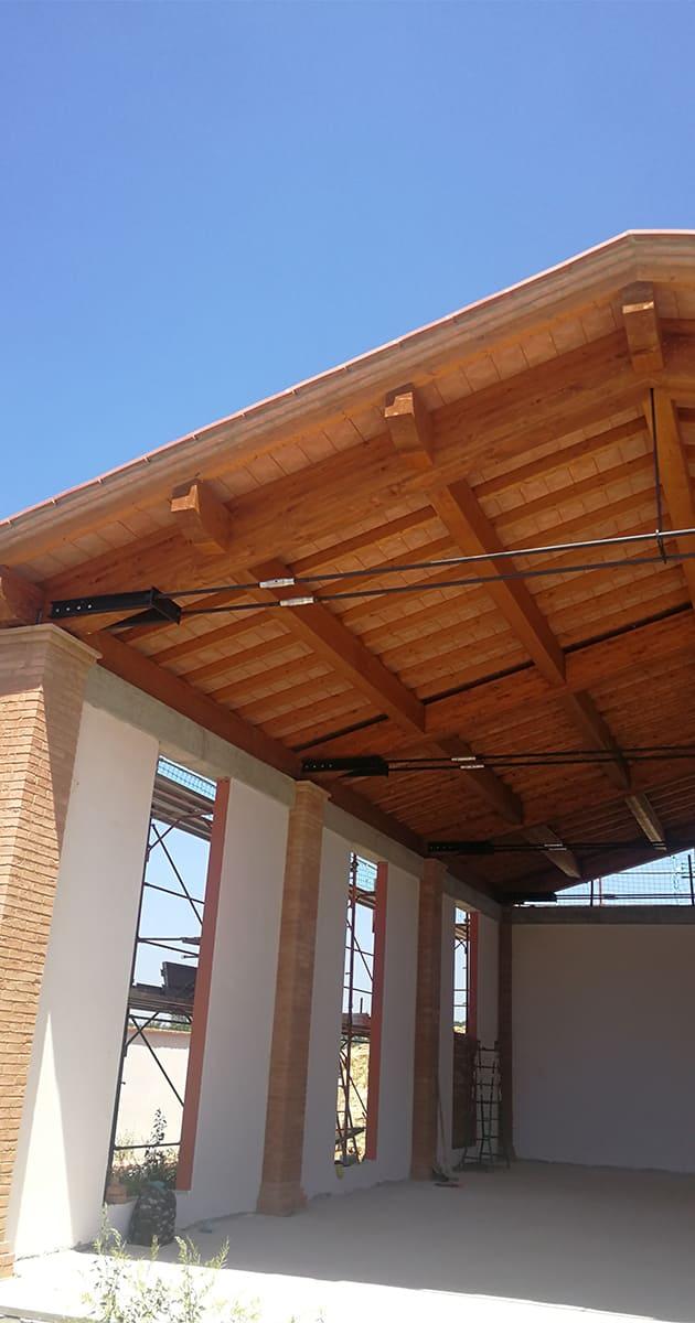 tetti in legno tecnocoperture