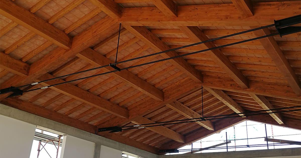 tetto in legno peccioli tecnocoperture