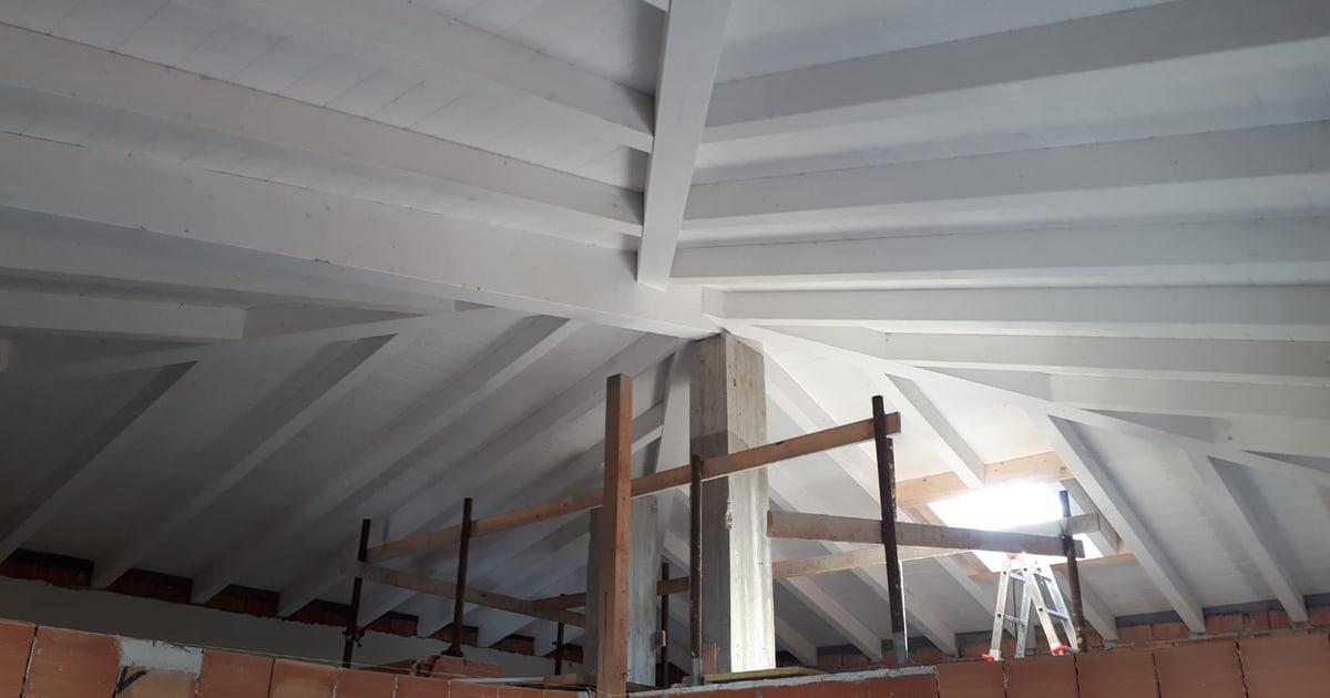 travature e lucernari tetti legno