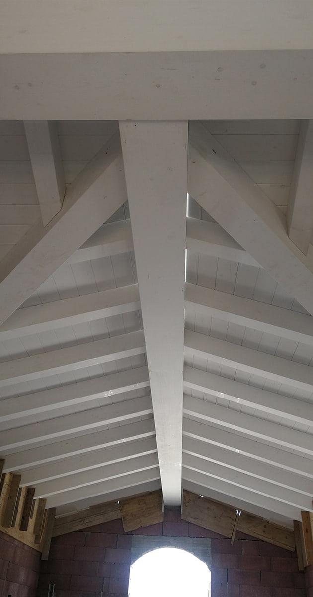 travature tetti legno lamellare pistoia