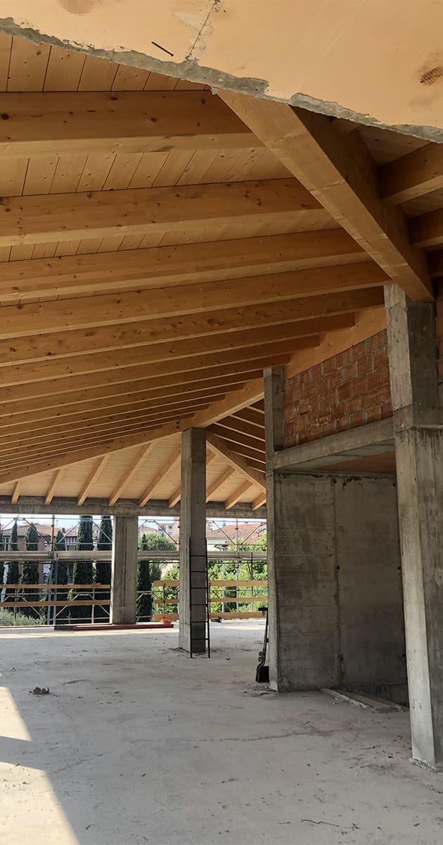 travature tetto legno sesto fiorentino